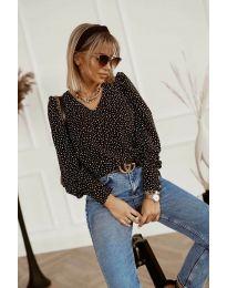 Блуза - код 3250 - црна