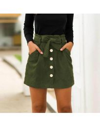 Сукња - код 5471 - путер зелена