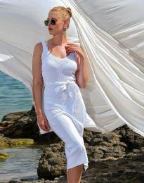 Фустан - код 2722 - бело