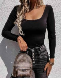 Блуза - код 4833 - црна