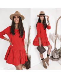 Фустан - код 8486 - црвена