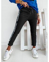 Панталони - код 3062 - црна