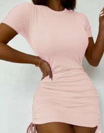 Фустан - код 5569 - розова
