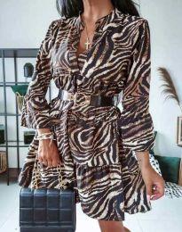 Фустан - код 4260 - шарено