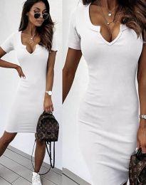 Фустан - код 2202 - бело