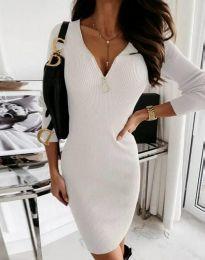 Фустан - код 9807 - 1 - бело