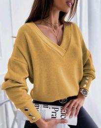 Блуза - код 5236 - окер