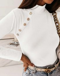 Блуза - код 5690 - бела