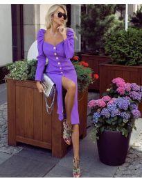 Фустан - код 4418 - виолетова
