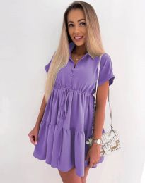 Фустан - код 8889 - виолетова