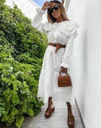 Фустан - код 0597 - 1 - бела