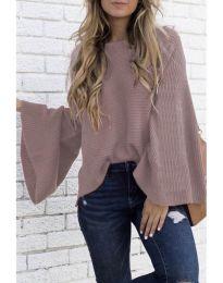 Блуза - код 076 - пудра