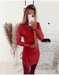 Фустан - код 2077 - црвена