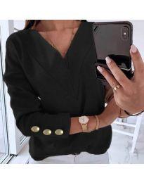 Блуза - код 0990 - црна