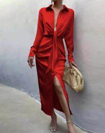 Фустан - код 6459 - црвена