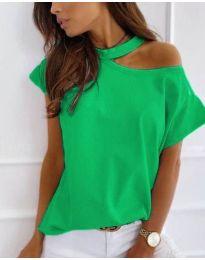 Блуза - код 804 - зелена