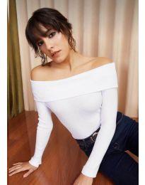 Блуза - код 11500 - бело