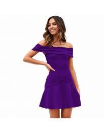 Фустан - код 611 - темно виолетова
