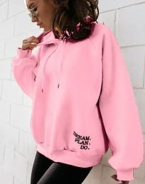 Блуза - код 4229 - розова