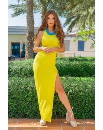 Фустан - код 11966 - жолта