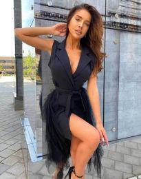 Фустан - код 2256 - 1 - црна