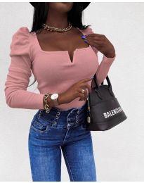 Блуза - код 2620 - розова