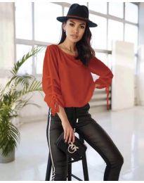 Блуза - код 5165 - црвена