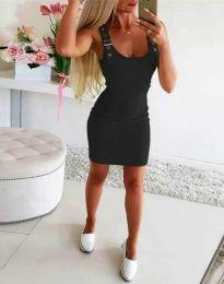 Фустан - код 0711 - 3 - црна