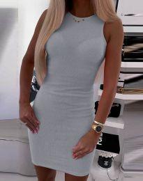 Фустан - код 9560 - сиво