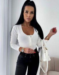Блуза - код 11698 - бело