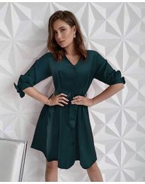 Фустан - код 9028 - путер зелена