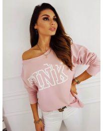 Блуза - код 5464 - розова