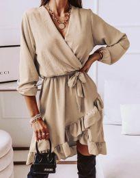 Фустан - код 5371 - кремова