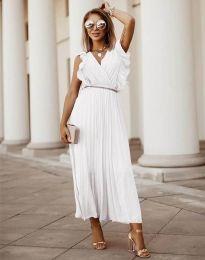 Фустан - код 3320 - бело