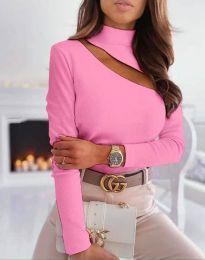 Блуза - код 11490 - розова