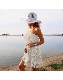 Фустан - код 4849 - бело