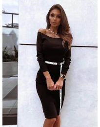 Фустан - код 4720 - црна