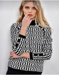 Блуза - код 378 - 2 - шарено