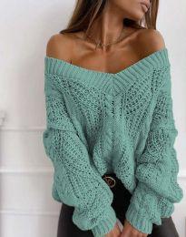 Блуза - код 1637 - ментол