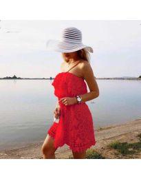 Фустан - код 4849 - црвена