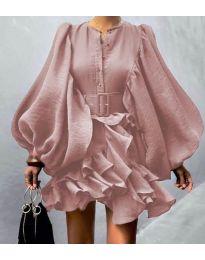 Фустан - код 2819 - розова