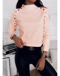 Блуза - код 2899 - 5 - праска