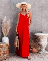 Фустан - код 4673 - црвена