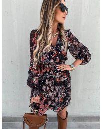 Фустан - код 7712 - 2 - шарена