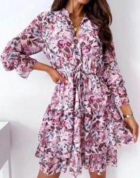 Фустан - код 2550 - цветна