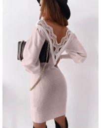 Фустан - код 1718 - розова