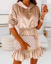 Фустан - код 0424 - кремова