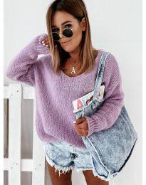 Блуза - код 112 - виолетова