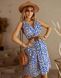 Фустан - код 5488 - 3 - шарена