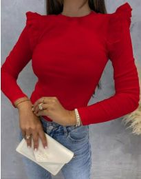 Блуза - код 1663 - црвена